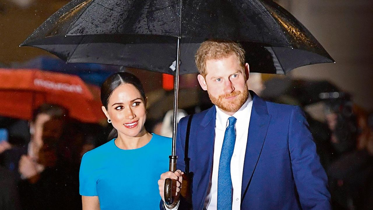 El príncipe Harry y Meghan Markle | Foto:AFP