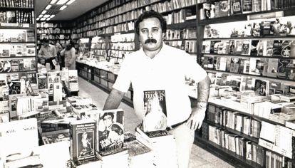 Manuel Pampín en Librería Premier.