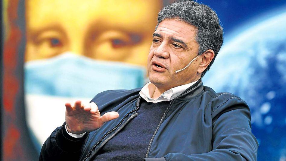 El intendente de Vicente López, Jorge Macri, en la entrevista con Jorge Fontevecchia.