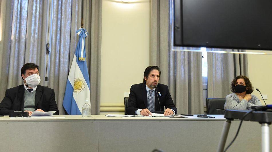 El ministro Nicolás Trotta 20200724