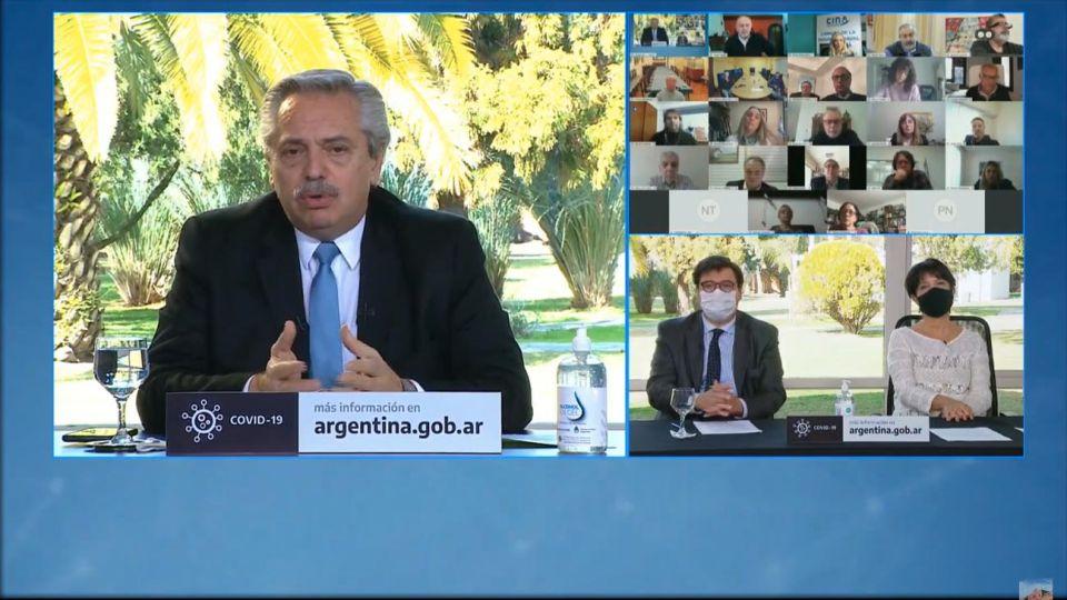 El presidente encabeza la presentación de una nueva etapa del programa ATP 20200724