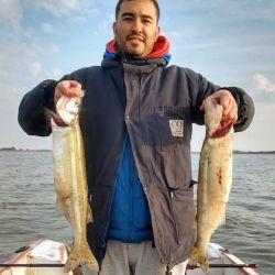 Estos son los resultados de la pesca de pejerreyes en Las barrancas de Lezama, Monte y Lobos.