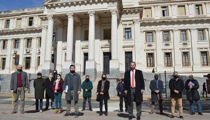 UNIDAD PROFESIONAL. Los abogados de la agrupación preparan un pedido de juicio político contra algunos integrantes del TSJ.