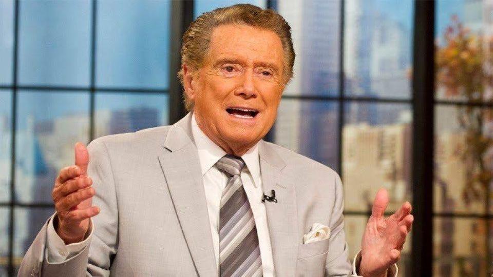 A sus 88 años murió Regis Philbin, presentador de televisión de Estados Unidos