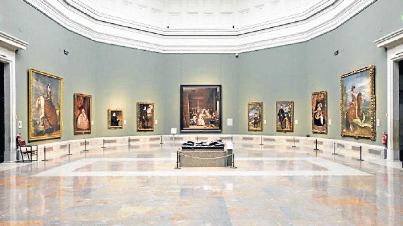 Velázquez. Una vista de la sala dedicada al pintor sevillano (1599-1660), uno de los máximos exponentes de la pintura universal.