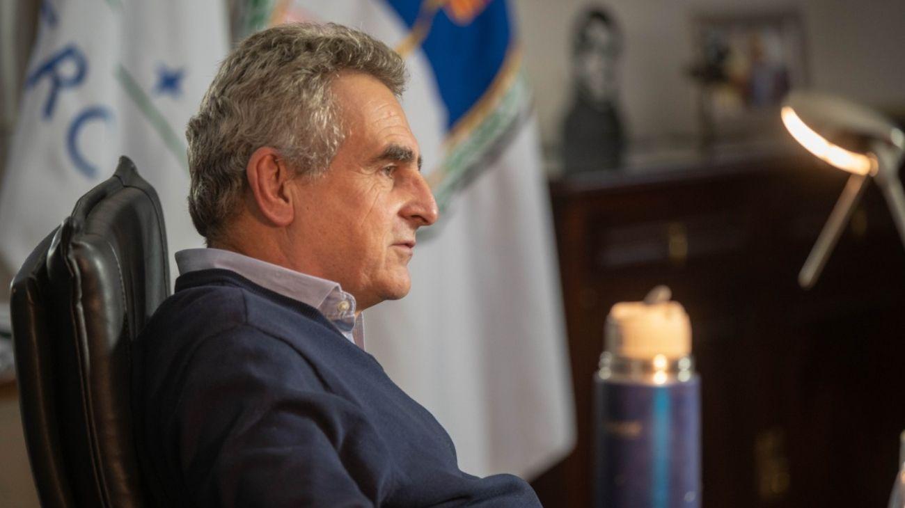 Agustín Rossi, ministro de Defensa.
