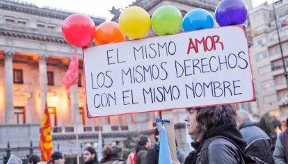 Aniversario. Se cumplieron diez años de la aprobación de la ley de matrimonio igualitario en el país.