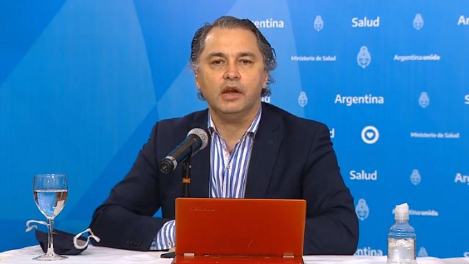 Alejandro Costa, subsecretario de Estrategias Sanitarias de la Nación.