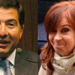 Ricardo Echegaray - Cristina Kirchner | Foto:cedoc