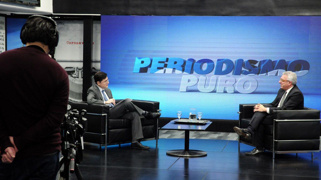 Periodismo Puro: Jorge Fontevecchia entrevista a Julio Zamora y Thomas Friedman