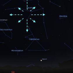 El fenómeno podrá producir unos 20 meteoros por hora.