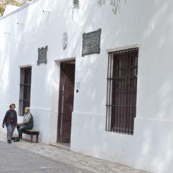 La casa natal de Sarmiento es una de las pocas que se mantuvo en pie en el microcentro sanjuanino después del terremoto que asoló la ciudad en 1944.