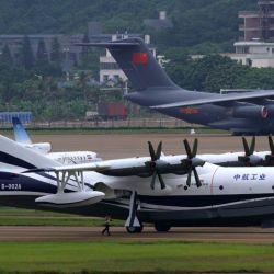 Según indican desde China, la idea es poder utilizar este avión para misiones de rescate o para luchar contra incendios.