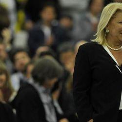 Lilita Carrio en pleno discurso   Foto:Elisacarrio.com.ar