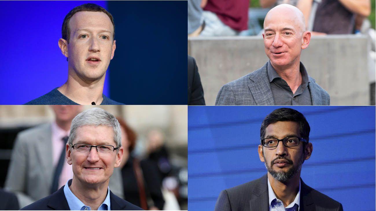 Facebook, Google, Amazon y Apple interrogados por el Congreso de Estados Unidos