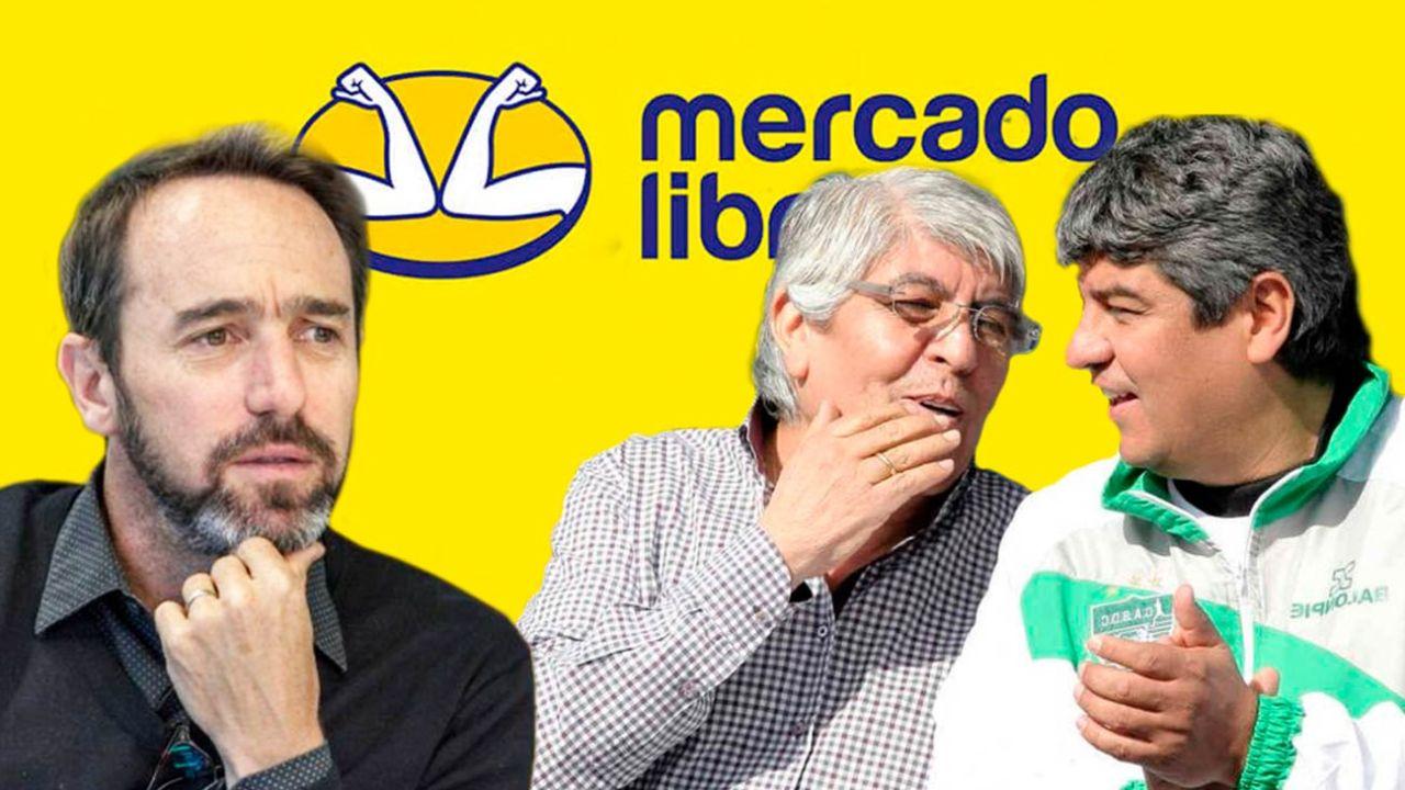 Marcos Galeprin - Hugo y Pablo Moyano | Foto:Montaje