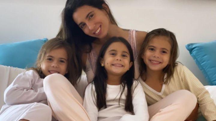Cinthia Fernández habló de la salud de sus hijas y confesó que están en grupo de riesgo