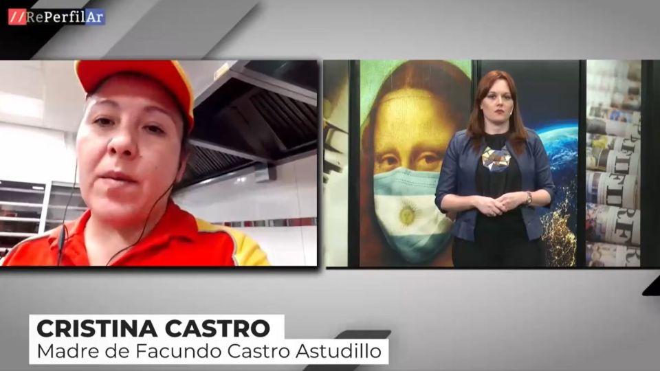 La madre de Facundo Astudillo Castro