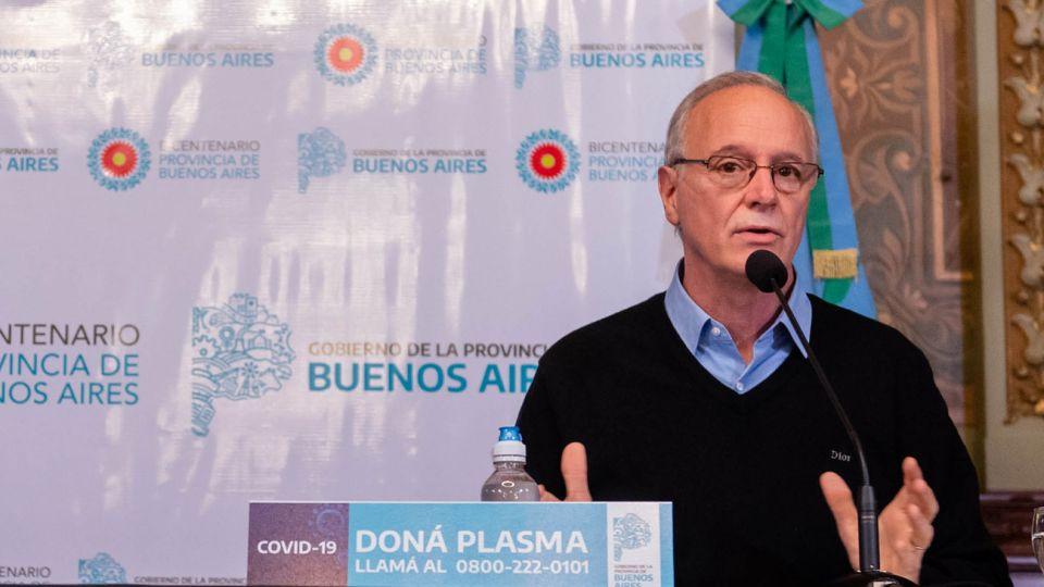 Daniel Gollán mostró su preocupación por el crecimiento de casos de coronavirus.