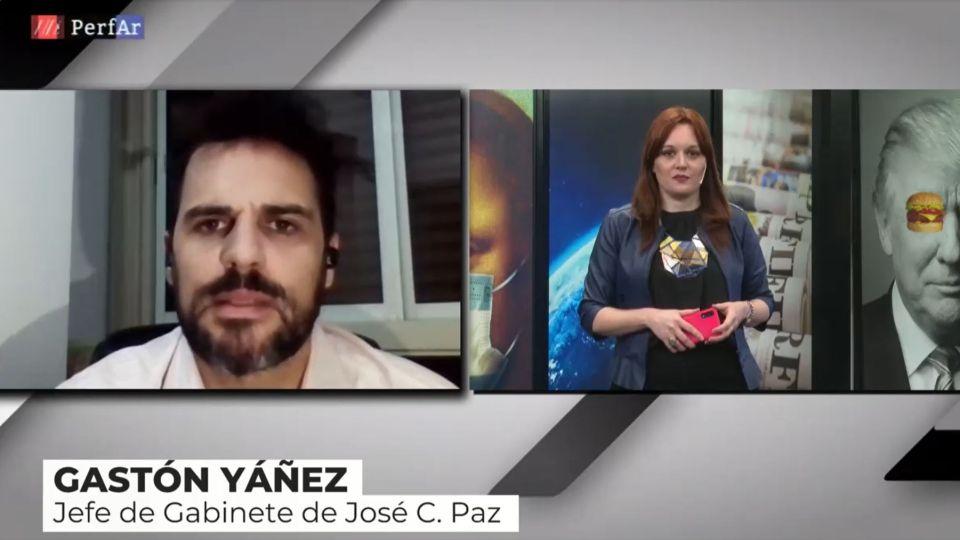 El Jefe de Gabinete de José C. Paz conversón con Reperfilar
