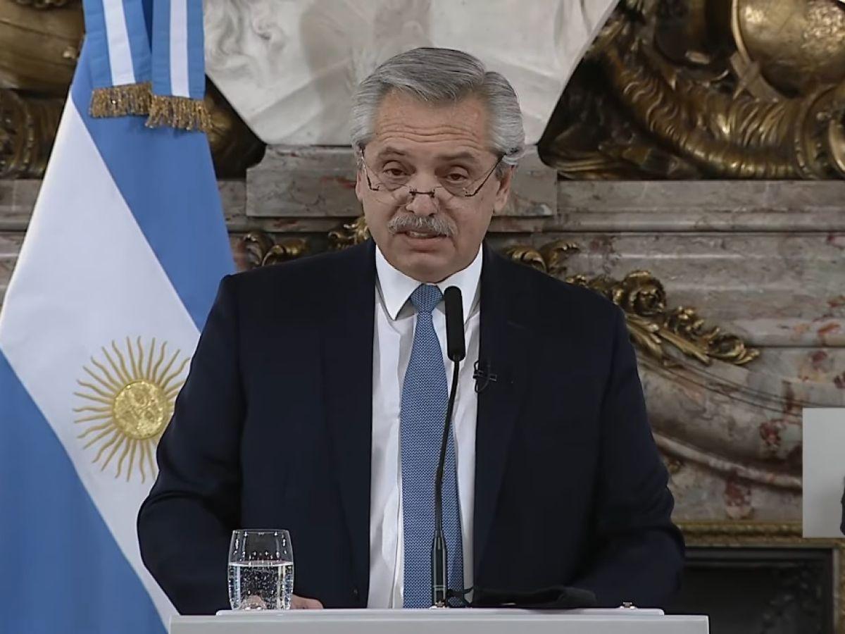 Reforma judicial: las claves del discurso de Alberto Fernández