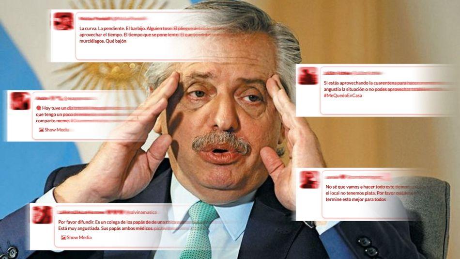 imagen alberto fernadez sondeos encuestas