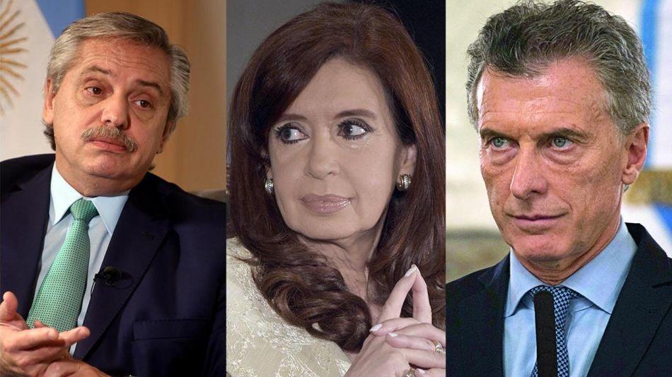 Macri, Cristina y Alberto 20200729