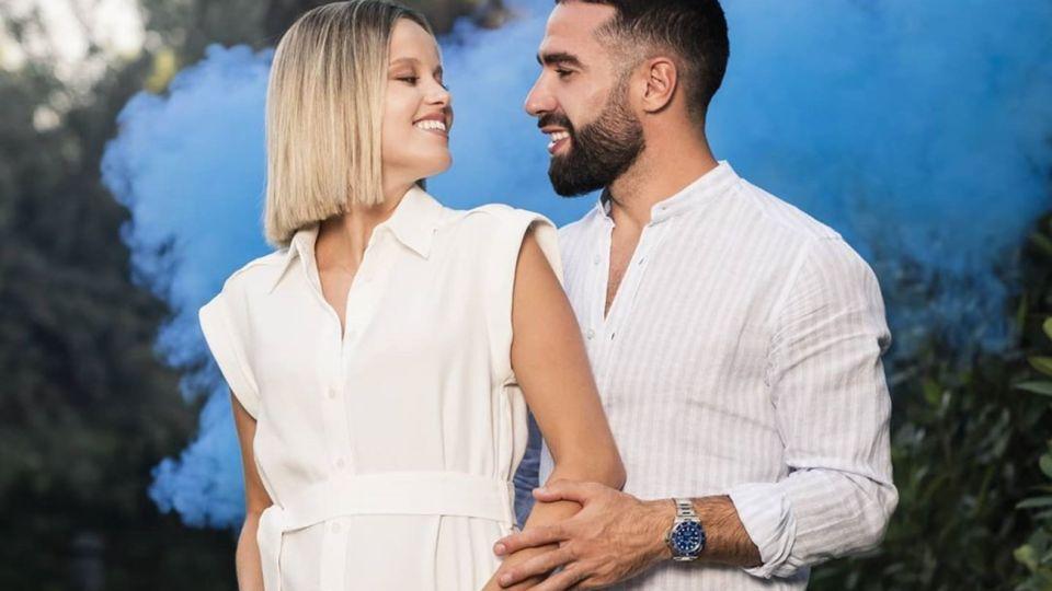 Dani Carvajal y su esposa esperan su primer hijo