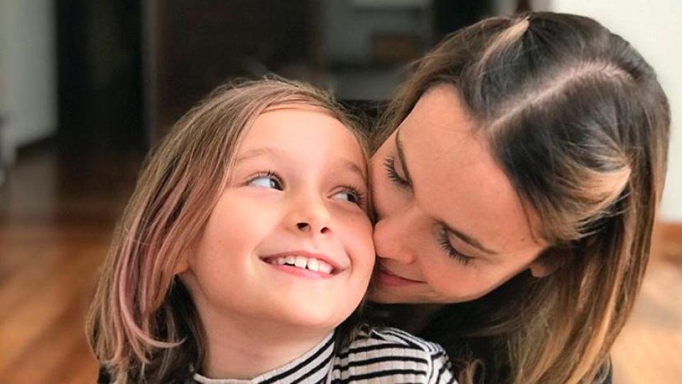 Débora Falabella y su hija, Nina Hipolitho