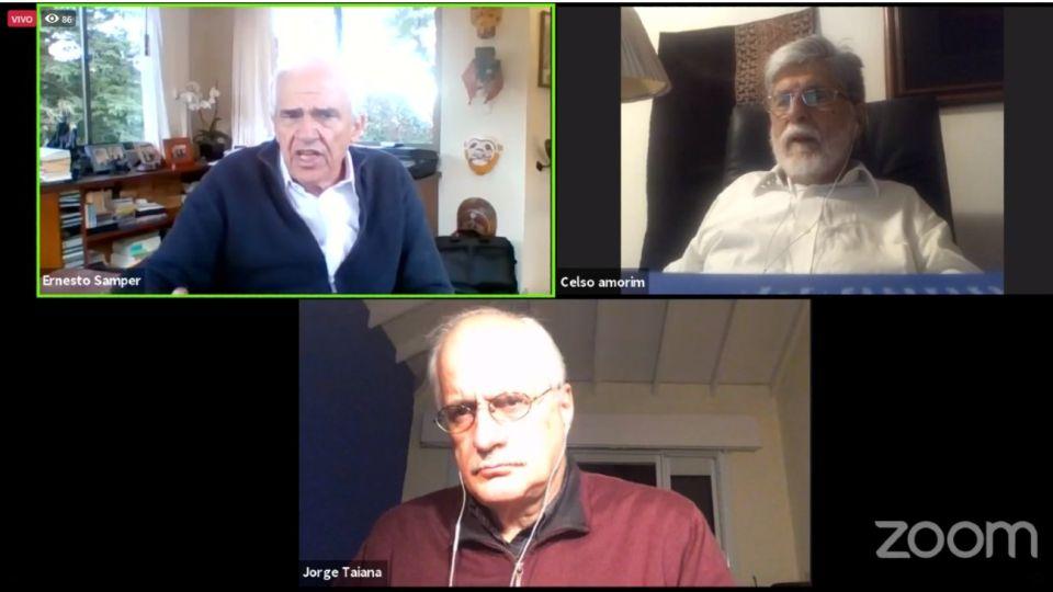 Jorge Taiana Ernesto Samper Celso Amorim Dialogos Grupo de Puebla 20200729