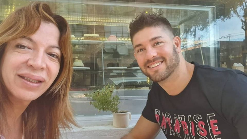 """La emotiva despedida de Leo Alturria, el novio de Lizzy Tagliani a """"la Floppy"""""""