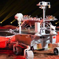 El vehículo chino que analizará la superficie marciana.  | Foto:CEDOC