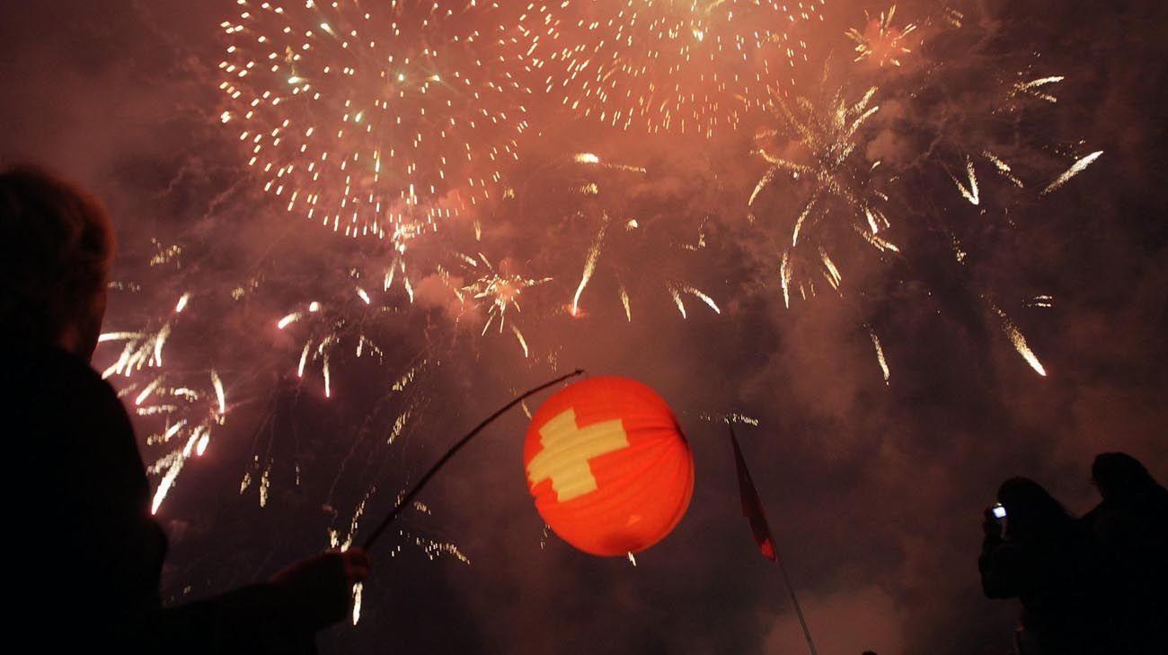 El primero de Agosto se celebra la Fiesta Nacional Suiza