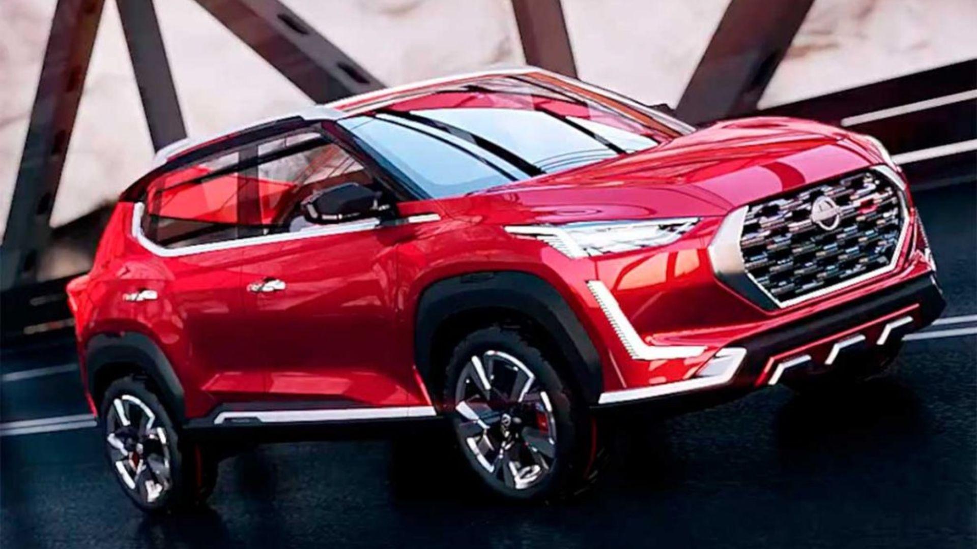 Parabrisas El Nuevo Suv Chico De Nissan Podria Reemplazar Al March
