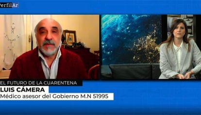 Luis Camera en Reperfilar sobre el futuro de de la cuarentena