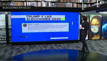 Trump propone posponer las elecciones.