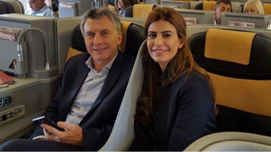 Mauricio Macri y Juliana Awada. 20200730