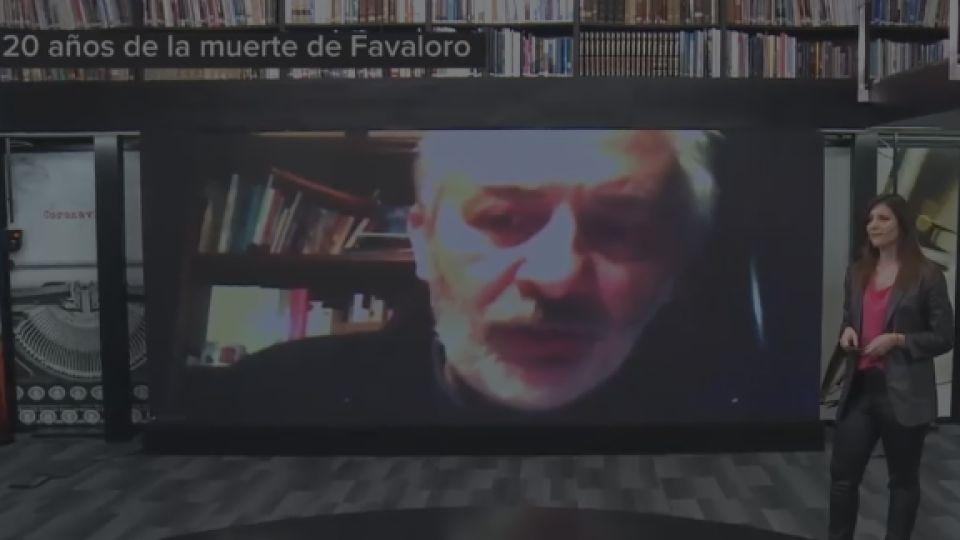 A 20 años de la muerte de René Favaloro, el biógrafo Pablo Morosi habló con Reperfilar.