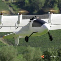 Lo más novedoso del proyecto es que la aeronave pueda girar las alas de una posición vertical a una horizontal y viceversa.