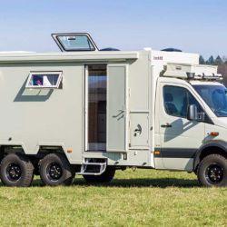 Las campers Bocklet están diseñadas para los amantes de los terrenos más duros, de esos que nos hacen saltar del asiento.