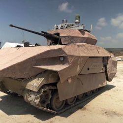 El tanque Carmel todavía está en fase de prototipo, pero ya ha realizado pruebas de campo.