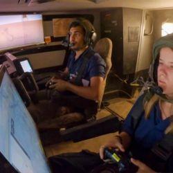 Los militares que controlarán el Carmel tienen entre 18 y 21 años, por lo que están más que familiarizados con las consolas de videojuegos.