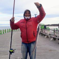 Santa Teresita abrió su muelle y los pescadores no faltaron a la cita.