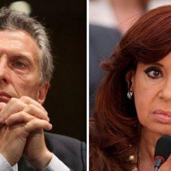 Macri y Cristina