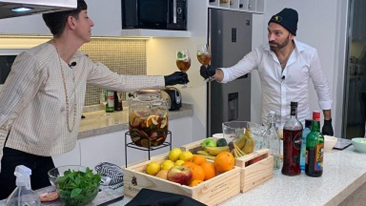 Gran bartender en casa | Foto:Cedoc