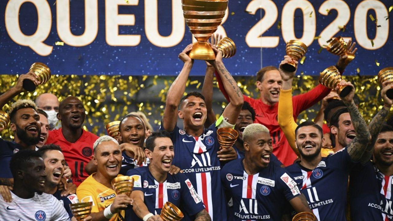 Con Navas como héroe, el PSG volvió a salir campeón y logró la Triple Corona