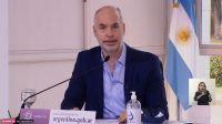 anuncio  jefe de Gobierno porteño Horacio Rodríguez Larreta 20200731
