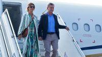 Mauricio Macri y Juliana Awada en París 20200731