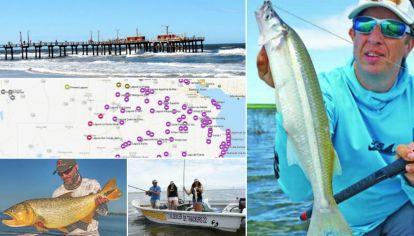 Cómo viene la pesca este fin de semana