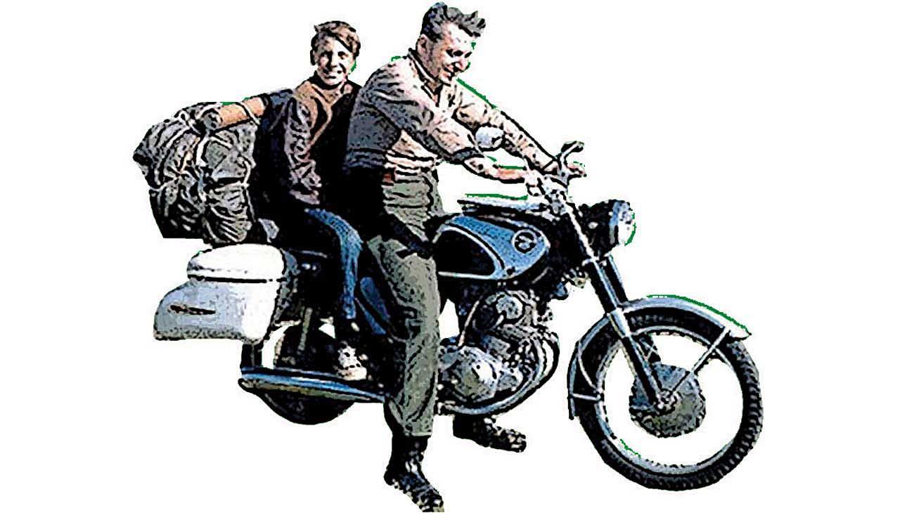 Pirsig. Autor de Zen y el arte del mantenimiento de la motocicleta.